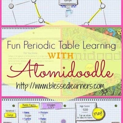 Fun Periodic Table Learning with Atomidoodles
