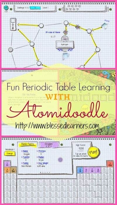 Fun Periodic Table Learning With Atomidoodles Blessed Learners