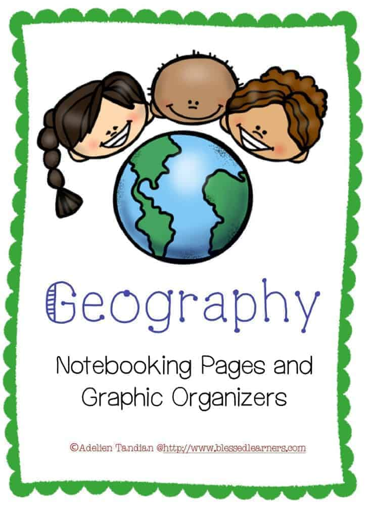 Geography Notebooking Page Templates