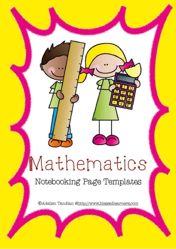 Mathematics Notebooking Page Templates