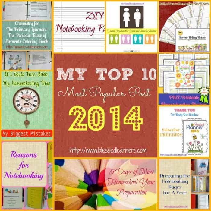 My Top 10 Most Popular Post in 2014