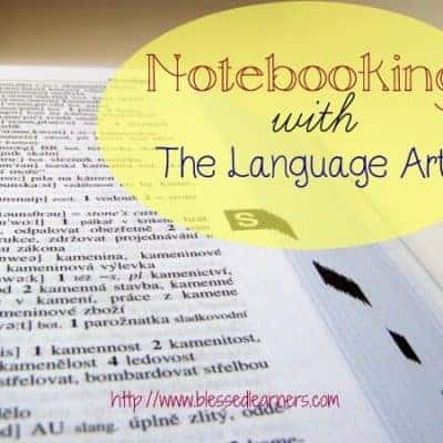 Notebooking with The Language Arts
