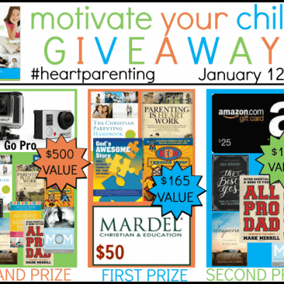 Motivate Your Children {$780 Total Value Giveaway}