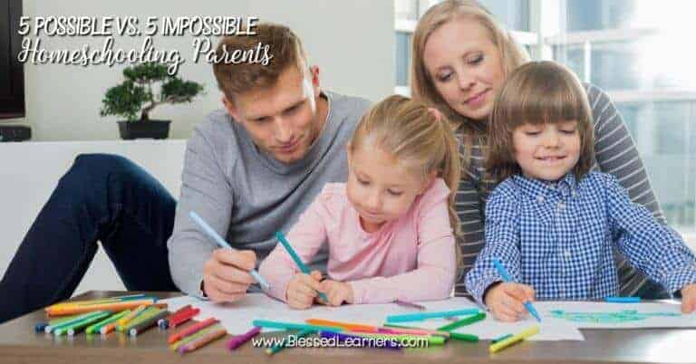 What kind of parents that possible and impossible to homeschool their children? Before you become homeschooling parents, think about your possibility.