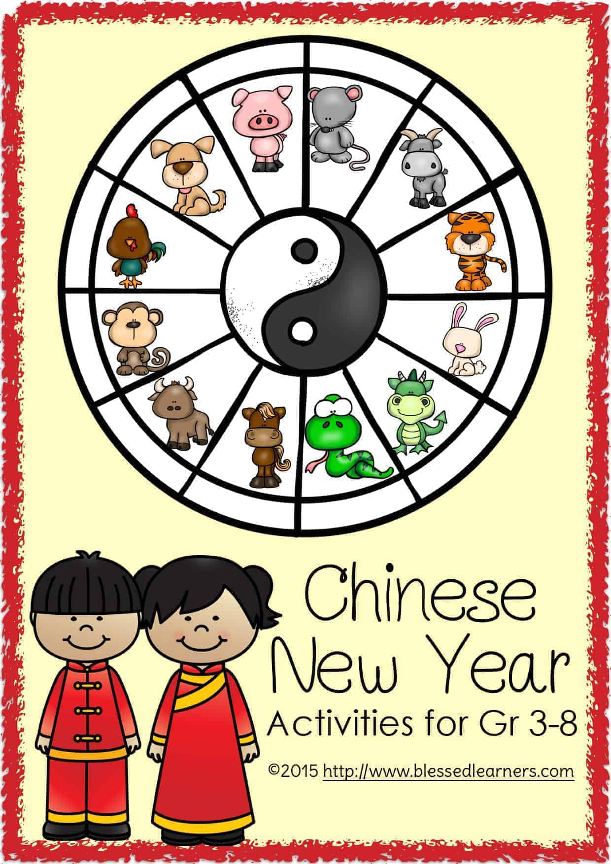 chinese new year unit activities for gr 3 8 blessed learners. Black Bedroom Furniture Sets. Home Design Ideas
