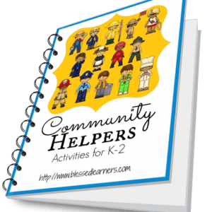 Community Helpers Activities for K-2