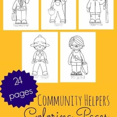 {Printable} Community Helper Coloring Pages