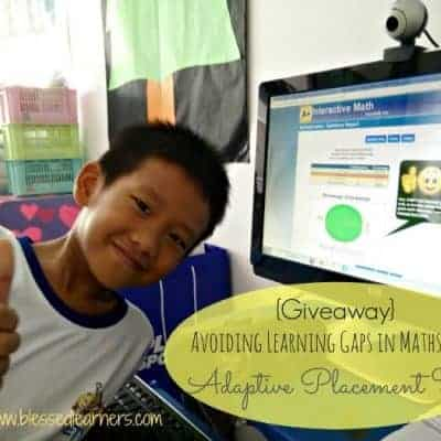 {FREEBIES and Giveaway} Avoid Learning Gaps in Maths with Adaptive Placement Test