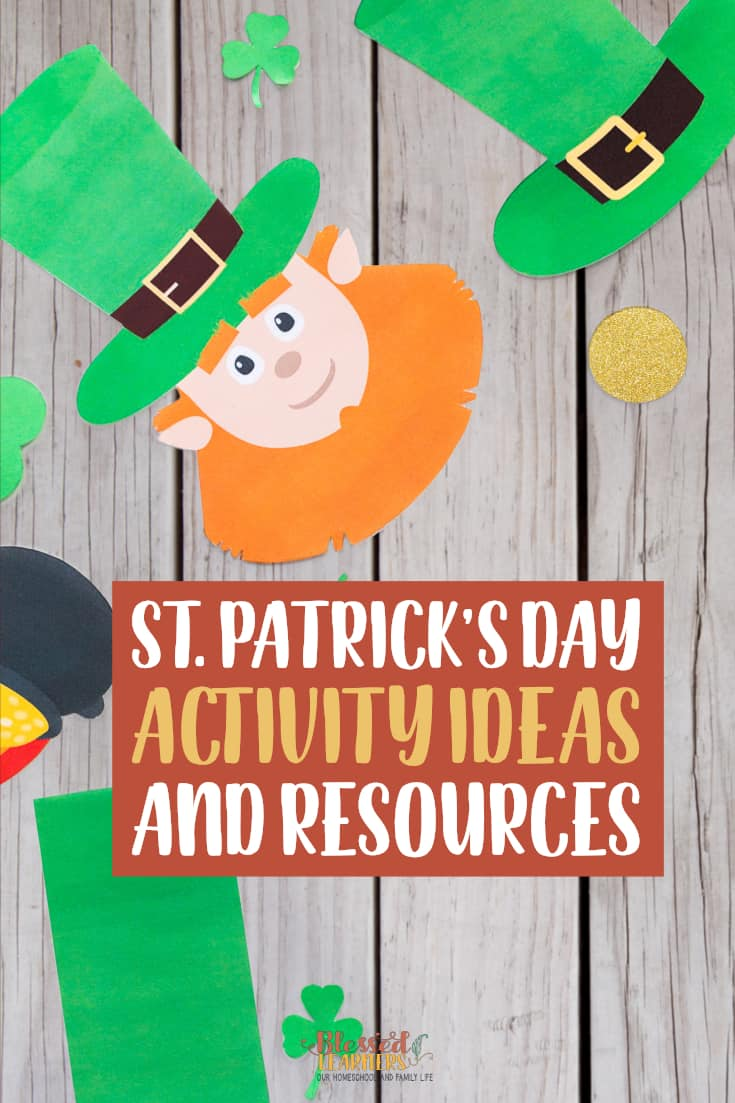 Here are 22St. Patrick's Day Activity Ideas and Resources to help learners digging the holiday by doing some research with critical thinking and enjoying the fictions. Get some ideas about reference, physical, and online St. Patrick's Day Activities.