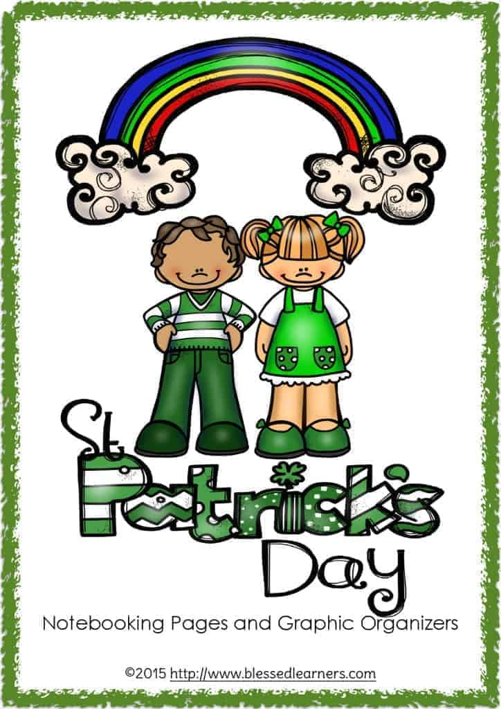 St. Patrick's Day Notebooking Pages and Graphic Organizers