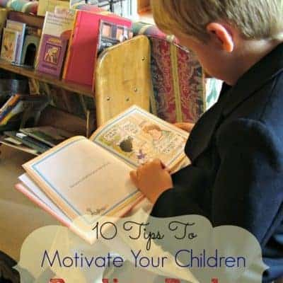 10 Tips To Motivate Your Children Reading Books