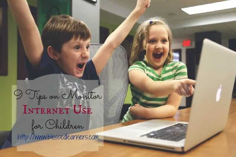 9 Tips on Monitor Internet Use for Children