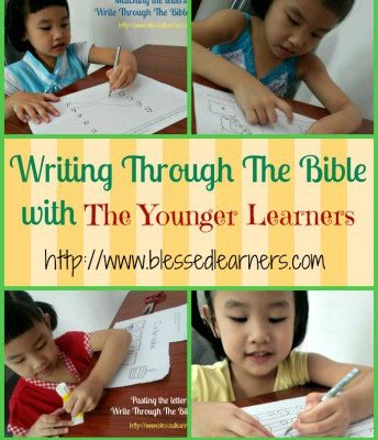 Write Through The Bible with The Younger Learners