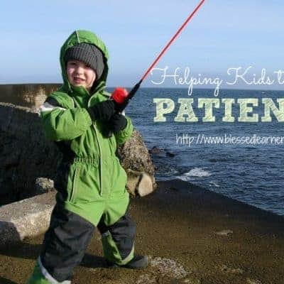 Helping Kids To Be Patient