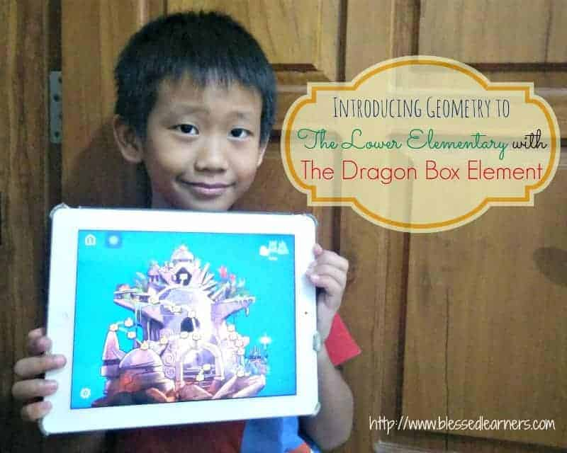 Introducing Geometry to The Lower Elementary with The Dragon Box Element