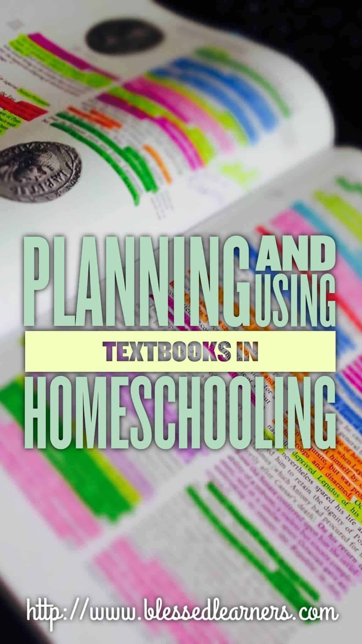 Planning and Using Textbooks in Homeschooling