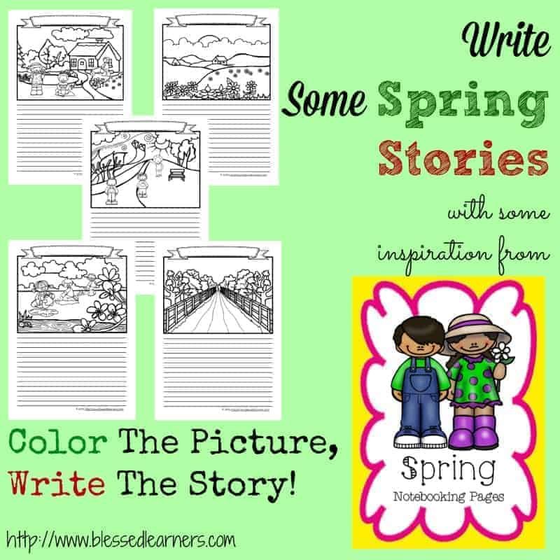 Spring Notebooking Pages
