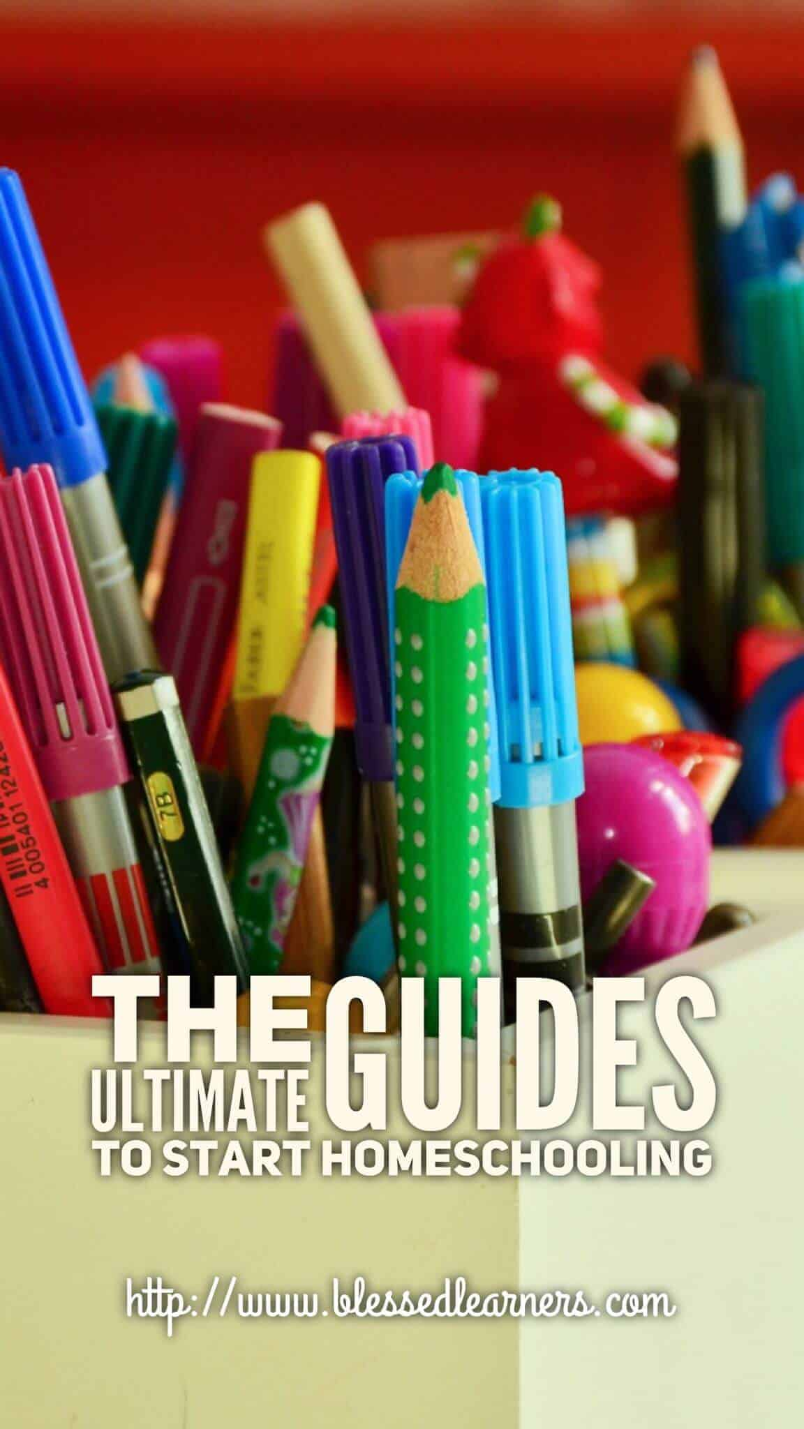 The Ultimate Guides to Start Homeschooling