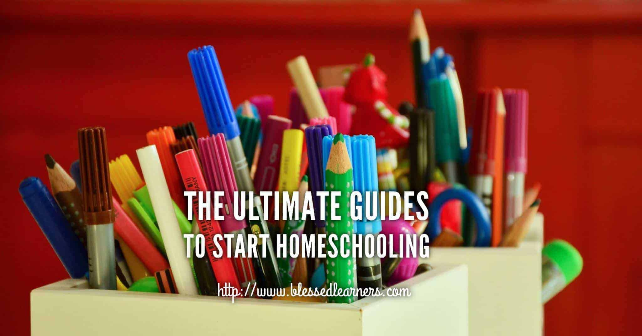 The Ultimate Guides to Start Homeschooling FB