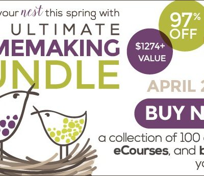 Make the Homemaking Easier with The Homemaking Ultimate Bundle