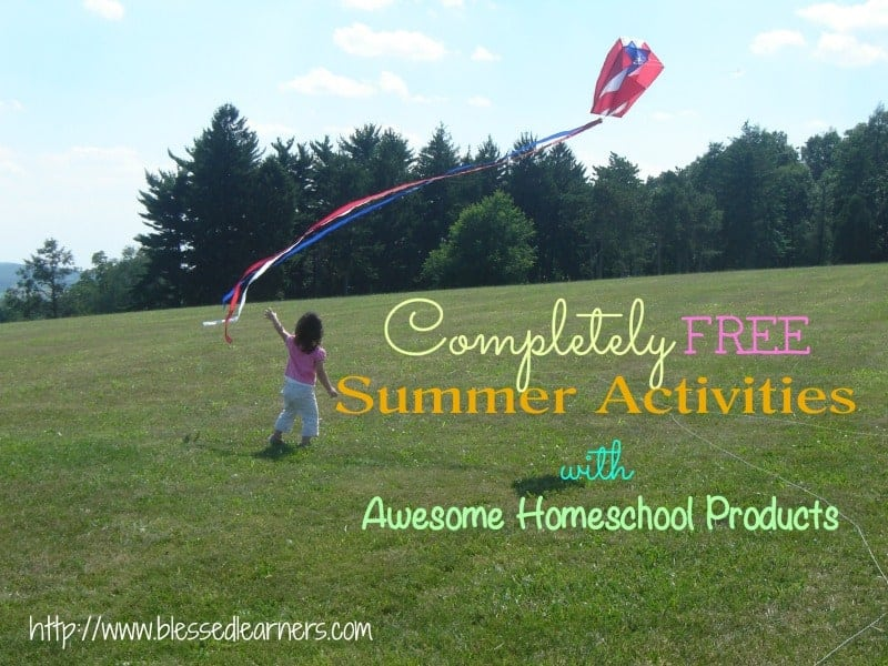 Completely FREE Summer Activities with Awesome Homeschool Products
