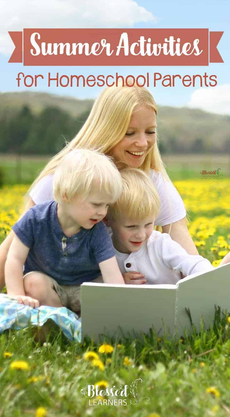 Summer is the right time to do a lot of things you cannot do much in the other seasons, even you don't go for a vacation. Here are some Summer activities for Homeschool Parents that might help you to recharge. #homeschool #SummerActivities #parenting