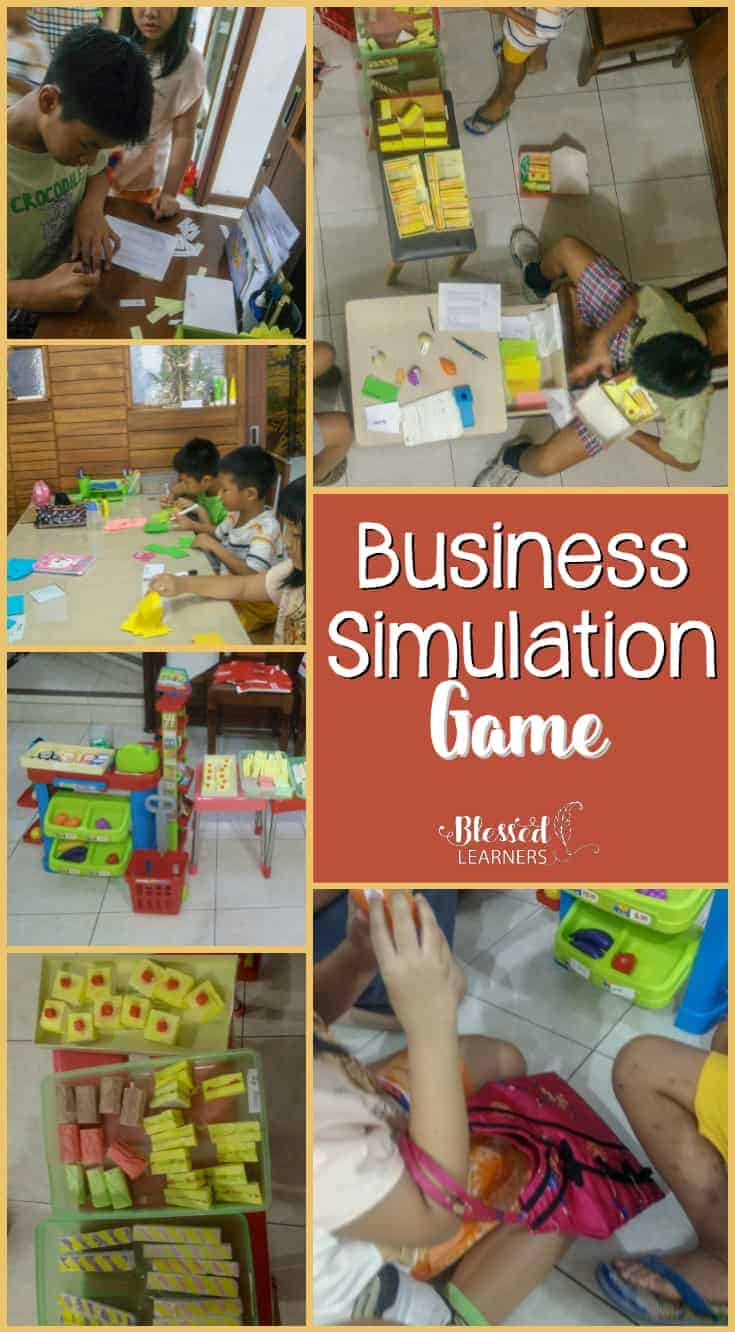 Are you looking for a way to introduce business to children? The Business Simulation Game for Children will be a fun way to do. Children will do a pretending business game to give more concept about market and as a part of financial literacy.