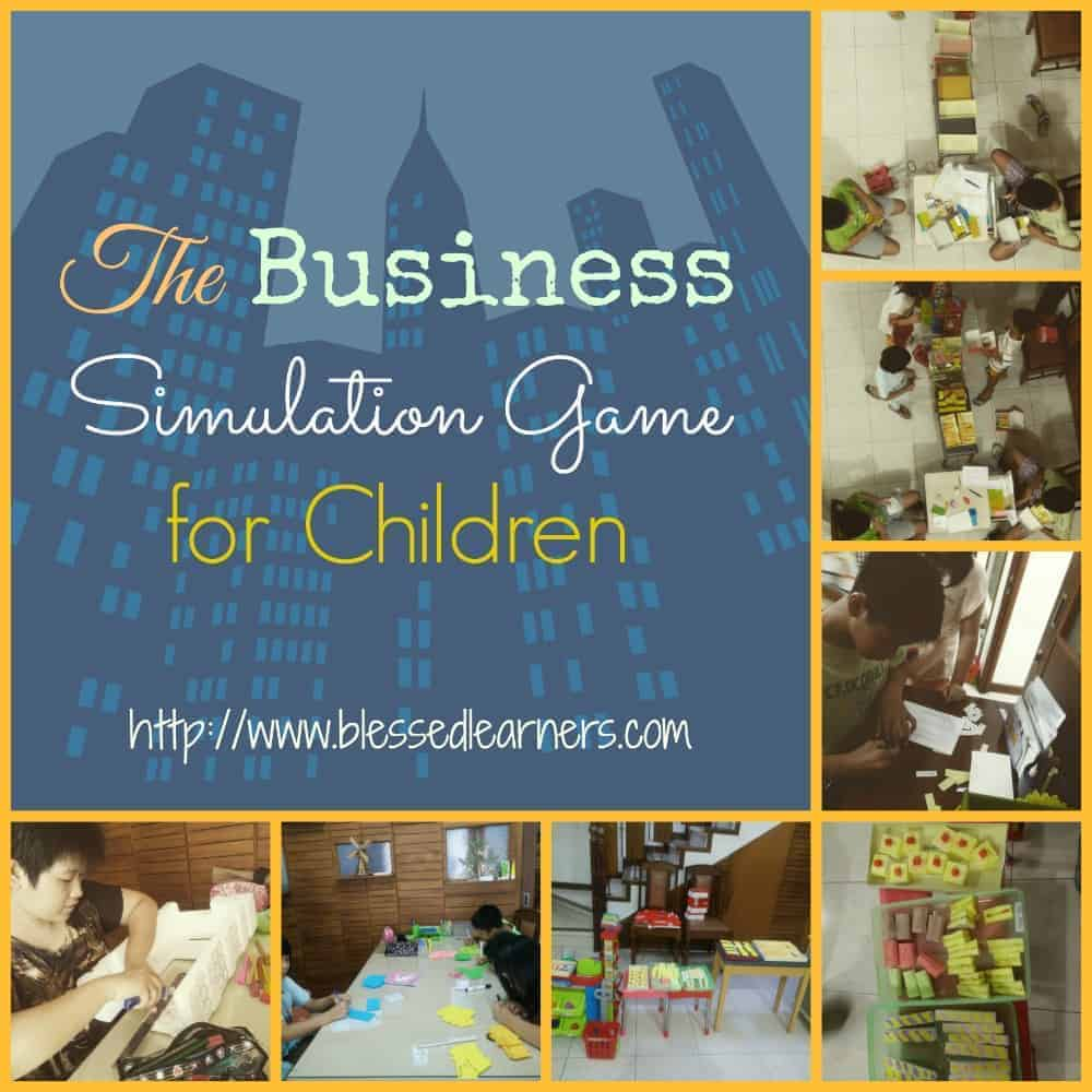 The business simulation game for children blessed learners for Business simulator