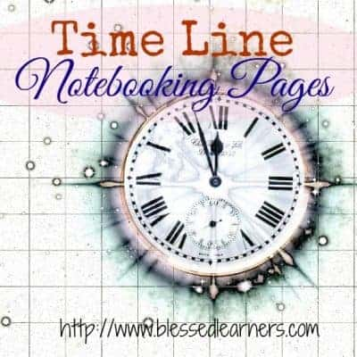 FREE Timeline Notebooking Pages