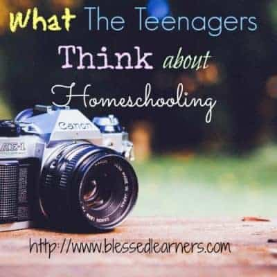 What The Teenagers Think about Homeschooling