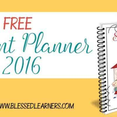 {Freebies} Student Planner 2016