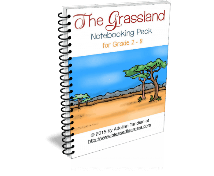Grassland Notebooking Pack