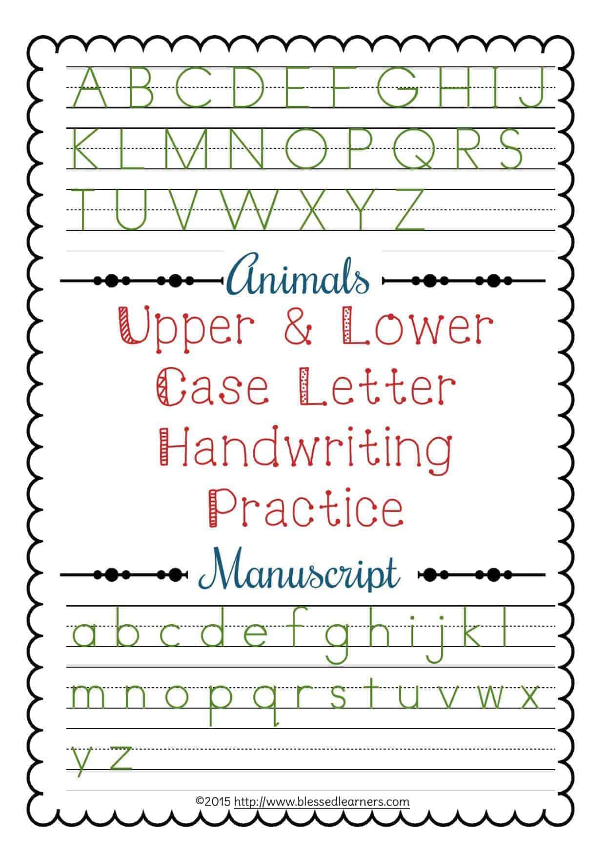 How To Write Upper And Lowercase Letters