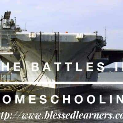 The Battles in Homeschooling