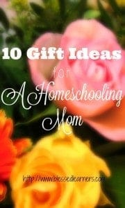 10 Gift Ideas for A Homeschooling Mom