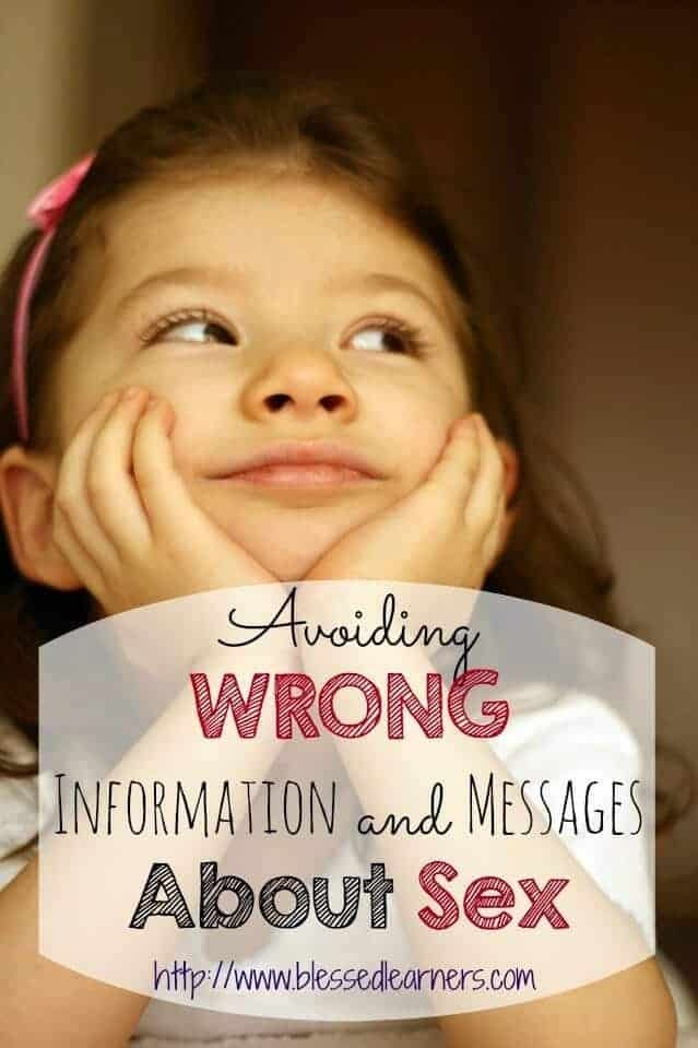 Avoiding WRONG Information and Messages About Sex
