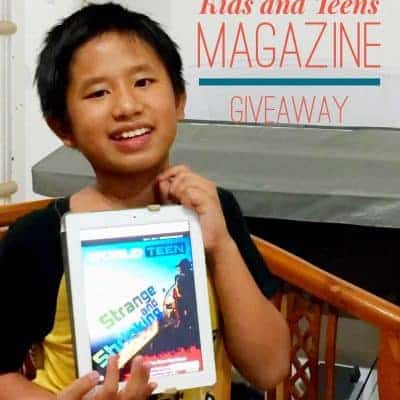 {Giveaway} Educational Kids and Teens Magazine