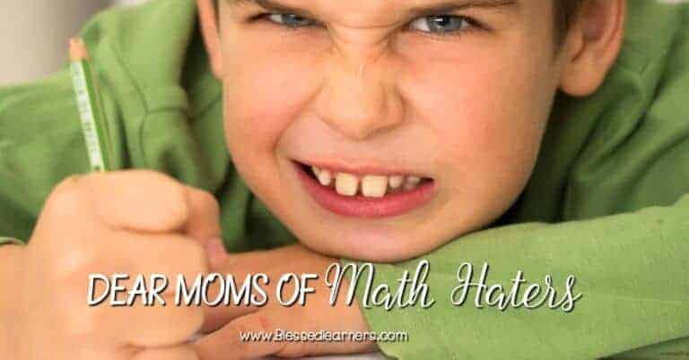 Do you have children who are math haters? You are not alone. Here is some tips for moms of math haters. I really hope that you can response to share.