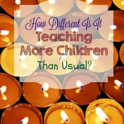 How Different Is It Teaching More Children Than Usual?
