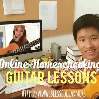 Online Homeschooling Guitar Lessons