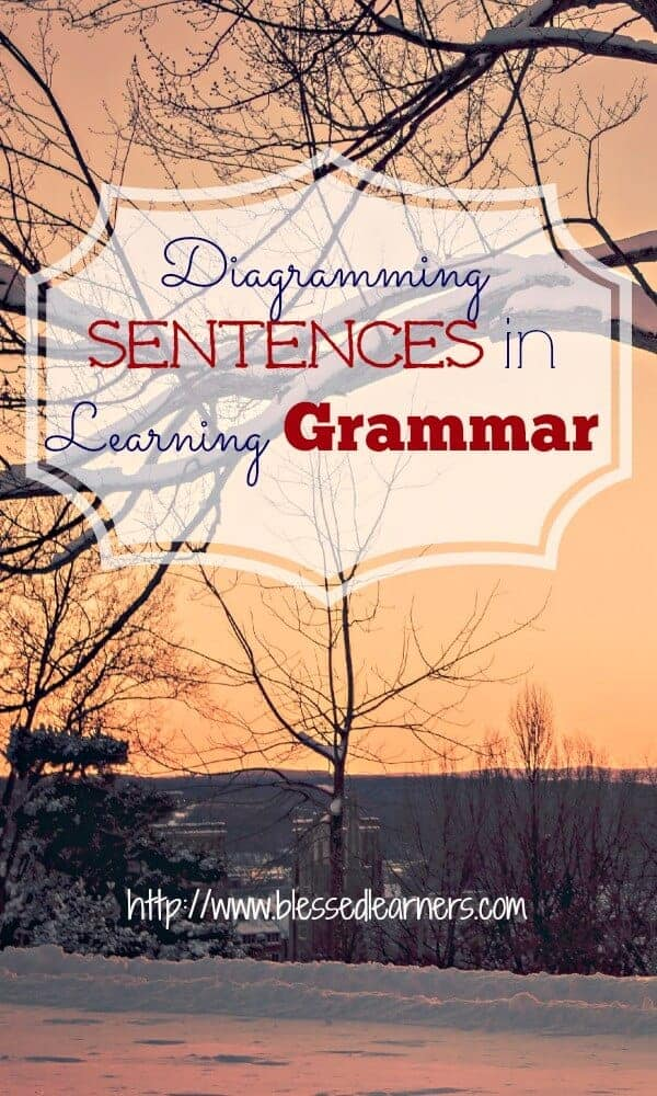 Diagramming Sentences in Learning Grammar