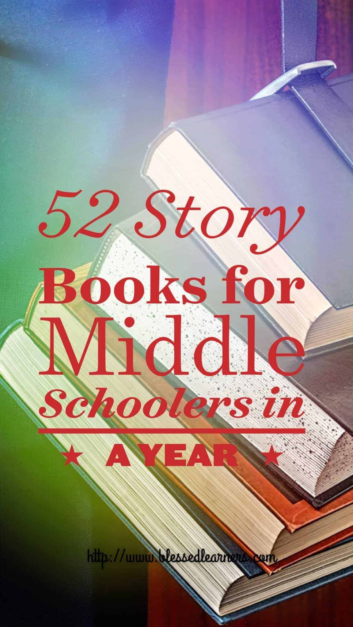 52 Story Books for Middle Schoolers in A year