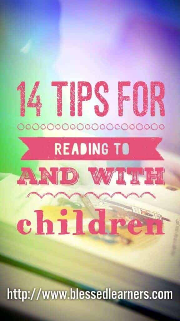 14 Tips for reading fiction to and with children