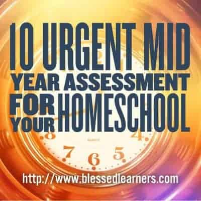 10 Urgent Mid Year Assessment for Your Homeschool