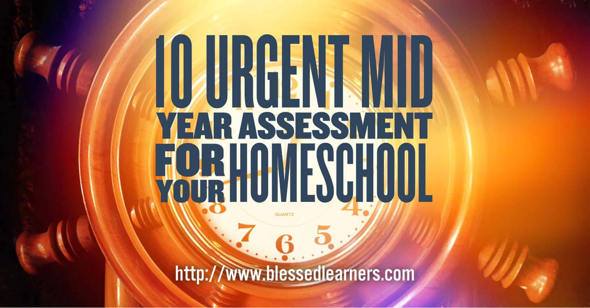 Assessment for your homeschool