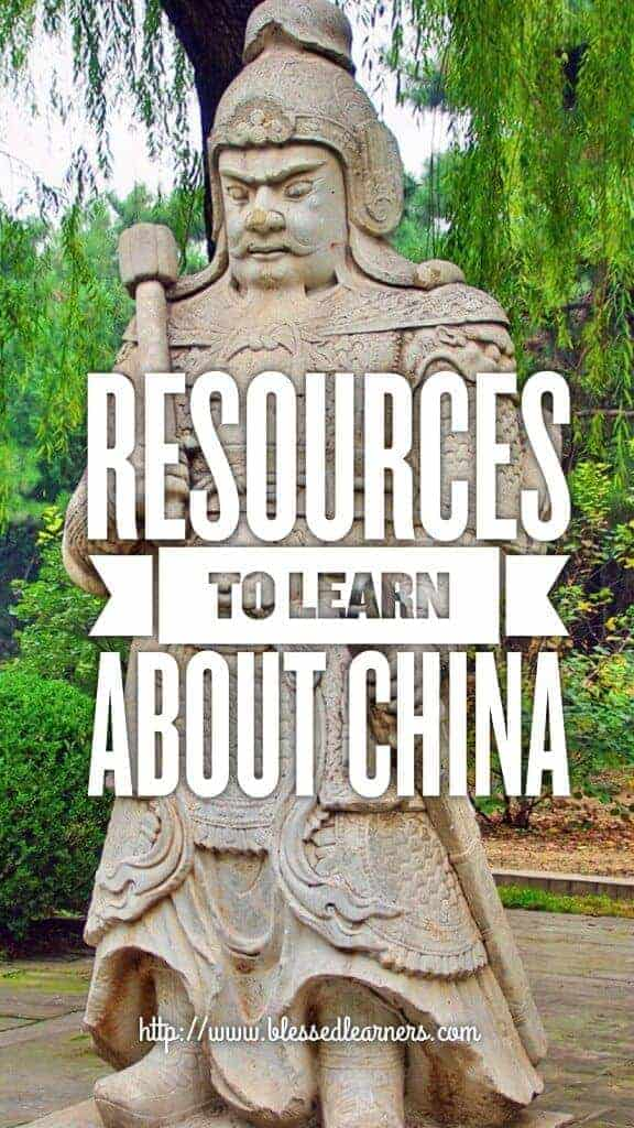Resources to learn about China with Children