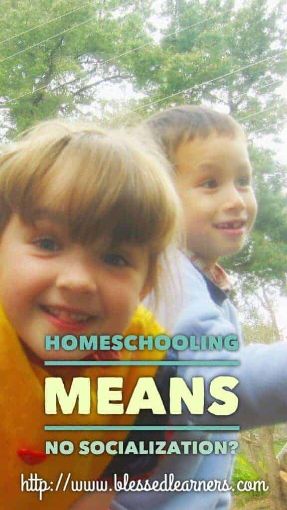 Homeschooling Means No Socialzation