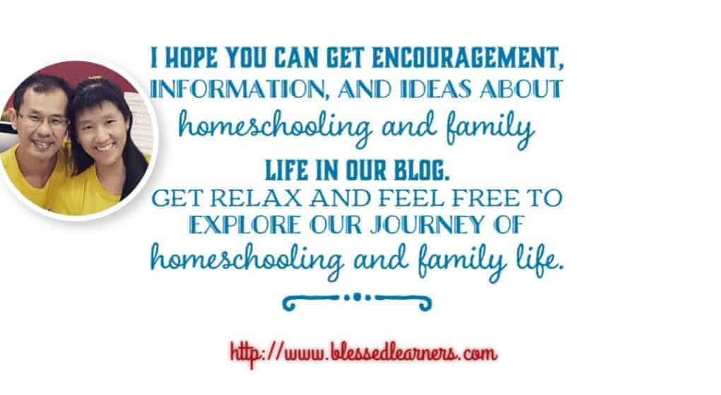 Blessed Learners - Our journey of homeschooling and family life