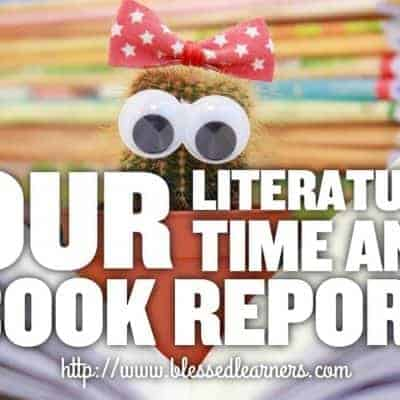 Our Literature Time and Book Report