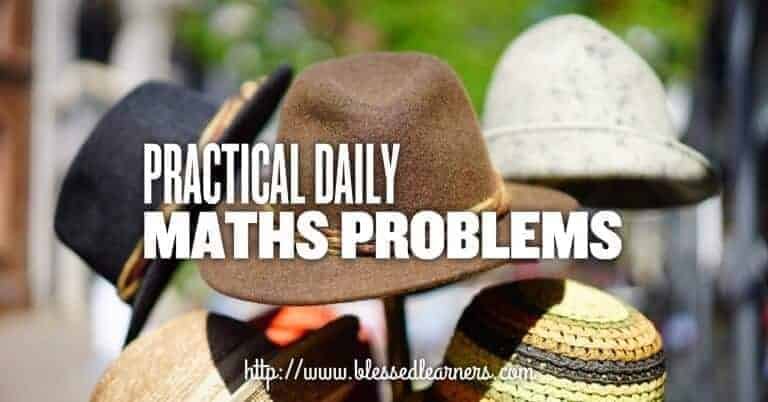 Practical daily maths problems